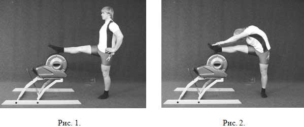 УПРАЖНЕНИЯ с Бизон-вибро  для  воздействия на мышцы  з а д н е й  п о в е р х н о с т и  б е д р а  и  г о л е н и