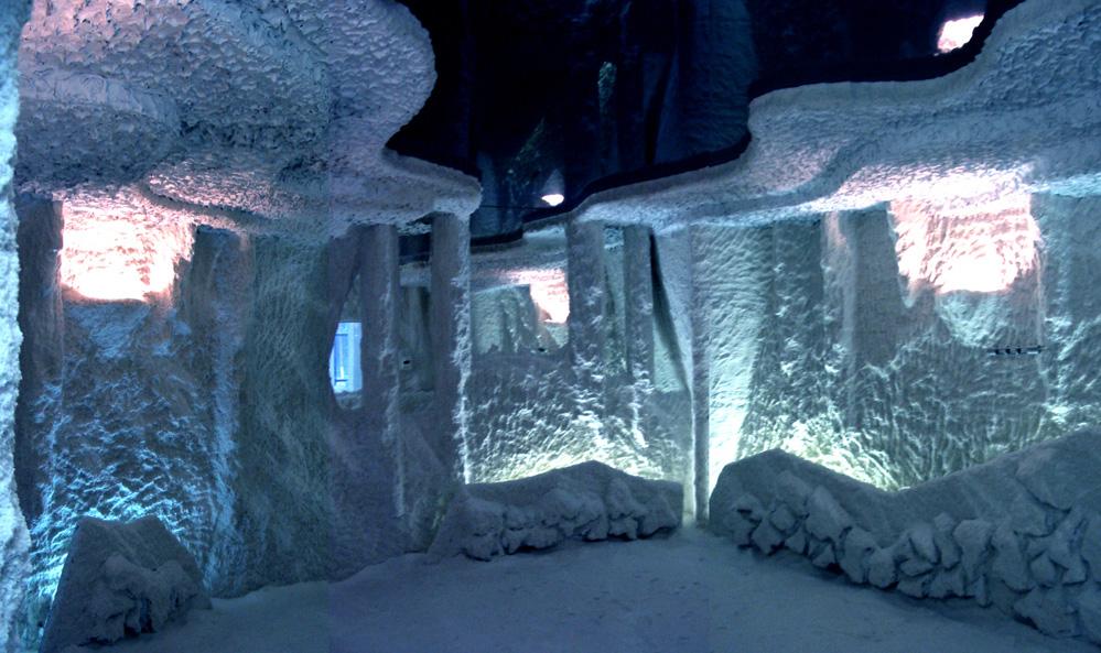 Солевые пещеры своими руками