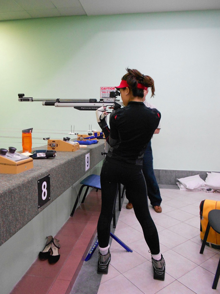 Пулевая стрельба и стабилометрия