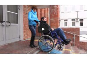Испытания мобильных подъемников для инвалидов