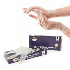 Перчатки эластомерные (Размер L)