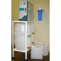 Установка  для  приготовления дезинфицирующих  и  моющих  растворов