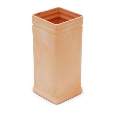 Стакан керамический  (в сечении  квадрат)
