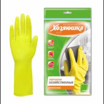 """Перчатки хозяйственные латексные """"Хозяюшка Мила"""" (Размер XL)"""