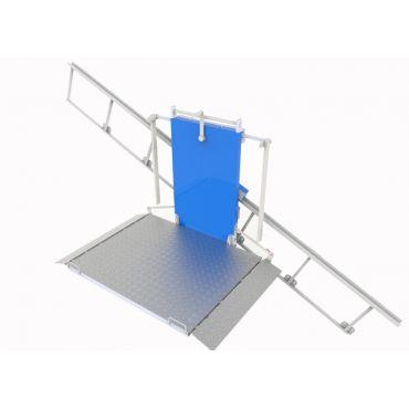 """Наклонный лестничный подъёмник для инвалидов """"серии ПН"""""""