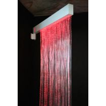 Фиброоптическая занавесь (150 волокон) с источником света и настенным креплением