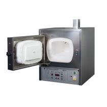 Муфельная электропечь ЭКПС-10 (до 1100°С) корпус из нержавеющей стали