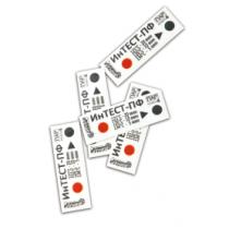 """Индикаторы """"ИНТЕСТ-ПФ"""" для паровой стерилизации многорежимные (внутренние-наружные)"""