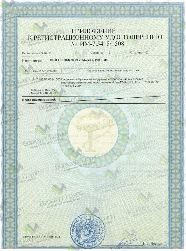 Индикатор винар Мед-ИС-В ру-2