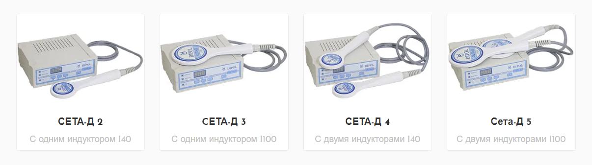 аппарат импульсный индукционной терапии Сета-Д