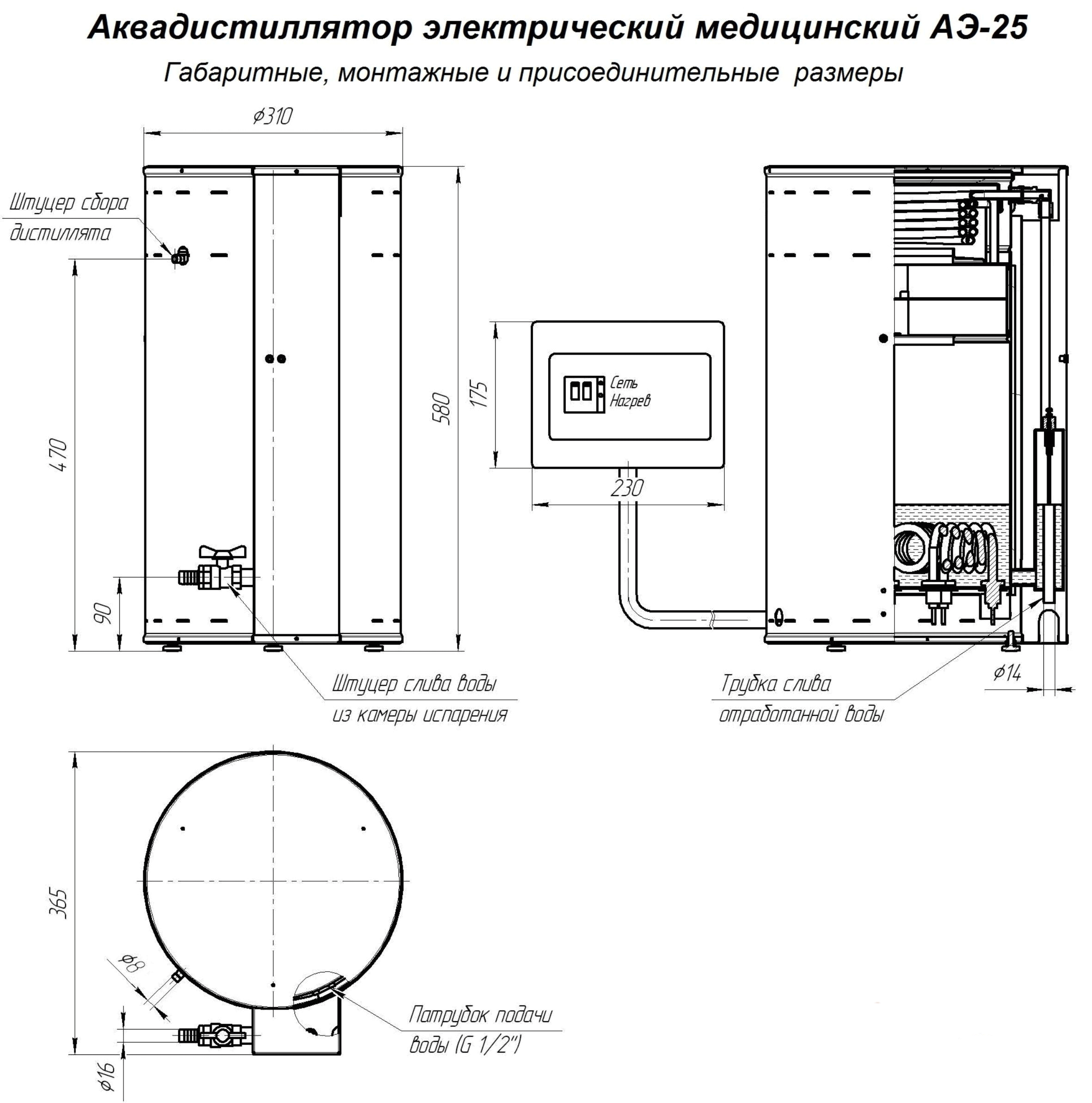 аквадистилляторы
