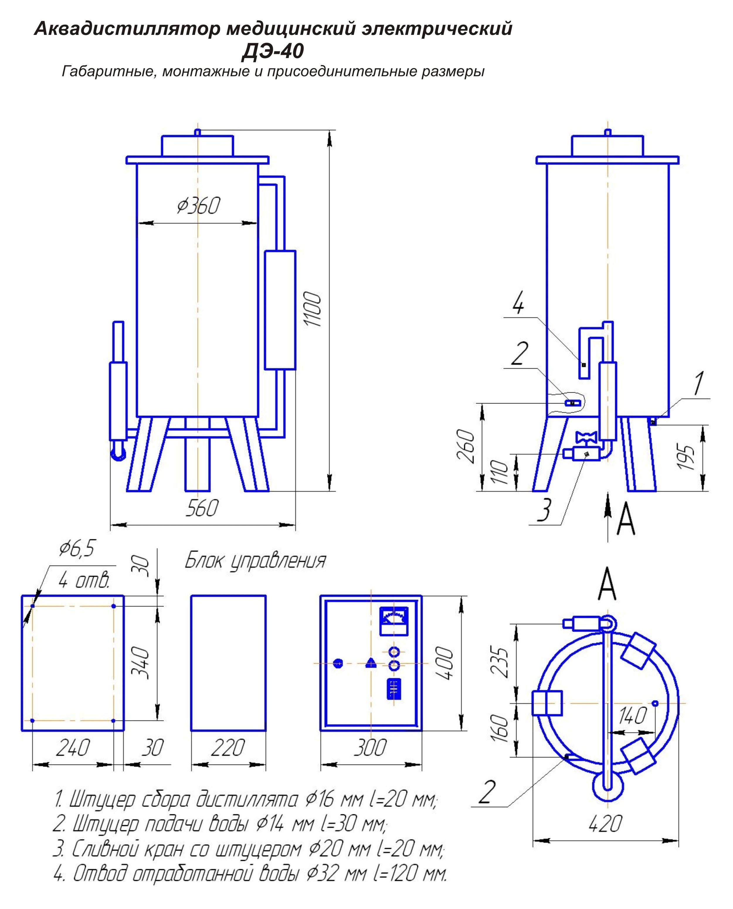 Аквадистилляторы / дистиллированная вода