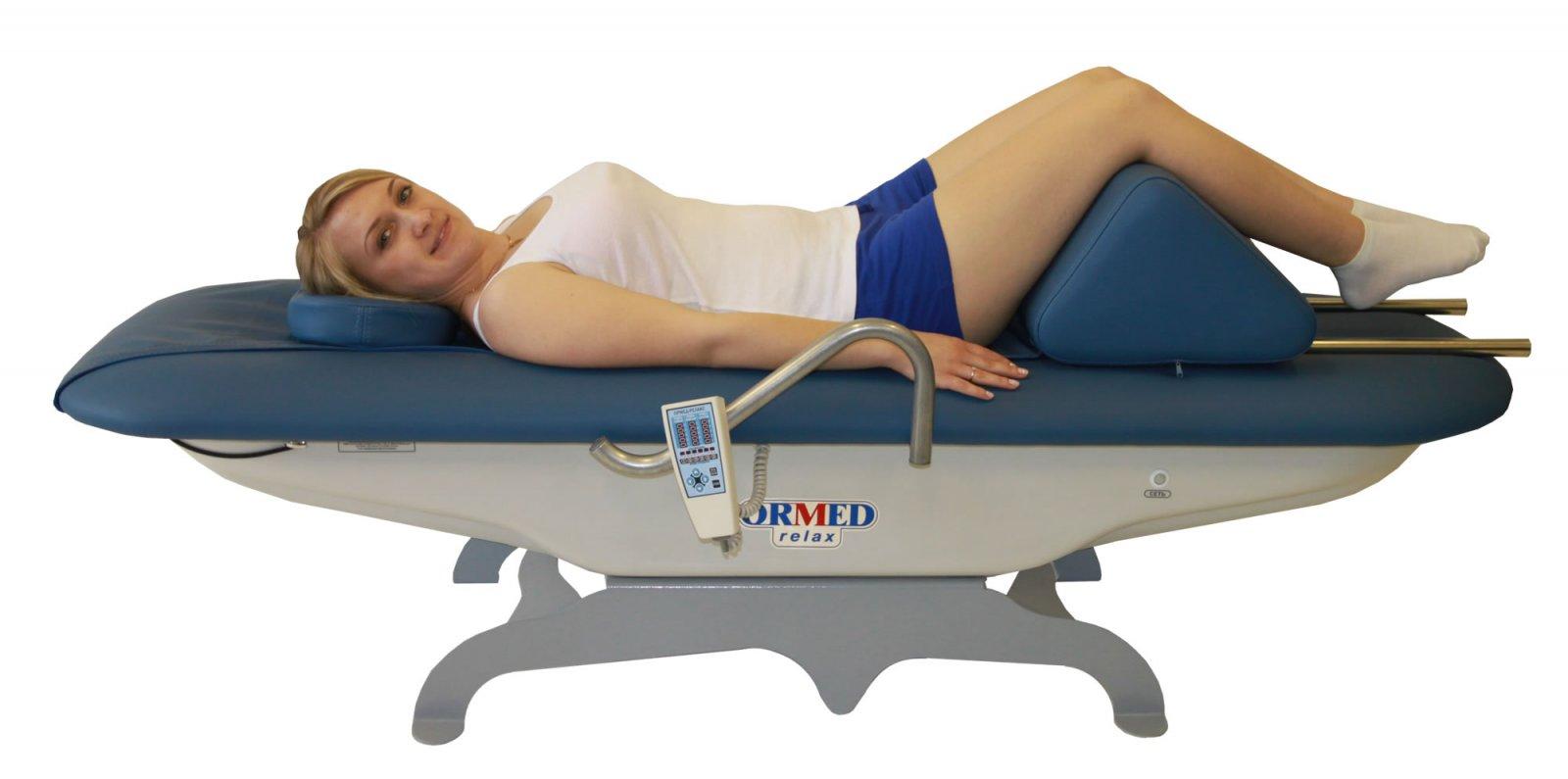 Ормед Релакс установка для вибрационно-теплового роликового массажа позвоночника