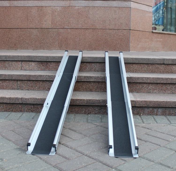 Пандусы для колясок лестничные, перекатные, мобильные