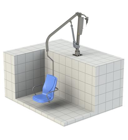 Подъемник стационарный для инвалидов и людей с ограниченными возможностями