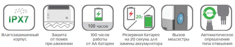 Преимущества электрокардиорафа 1010 WI-FI